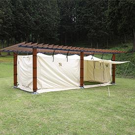 防災テント・防災パーゴラ