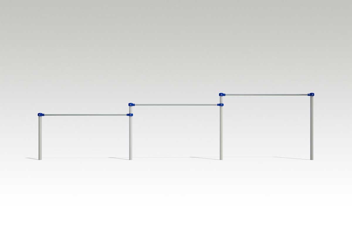 CP-00615 3連低鉄棒