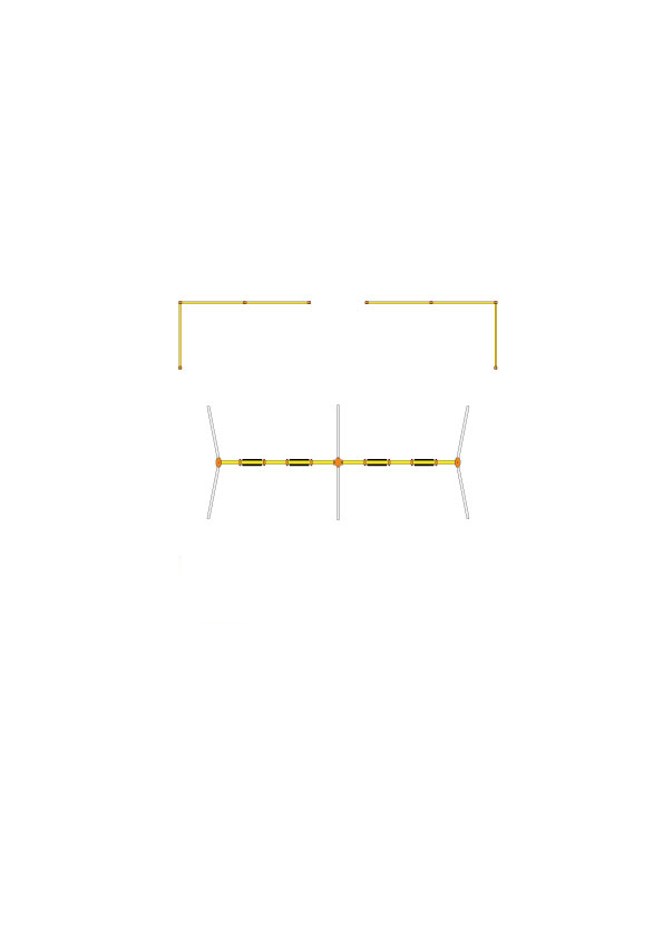CP-01526 安全柵(4連用 2組セット)