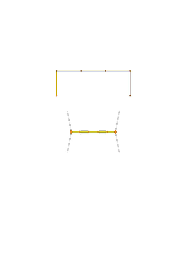 CP-01527 安全柵(2連用 1組セット)