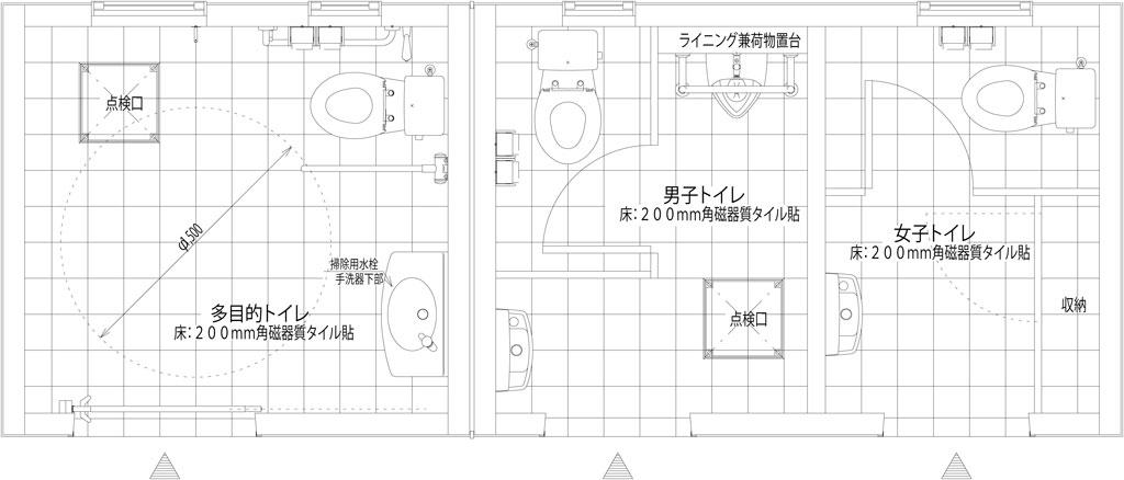 KT002A-SM-00-BR 公園トイレ