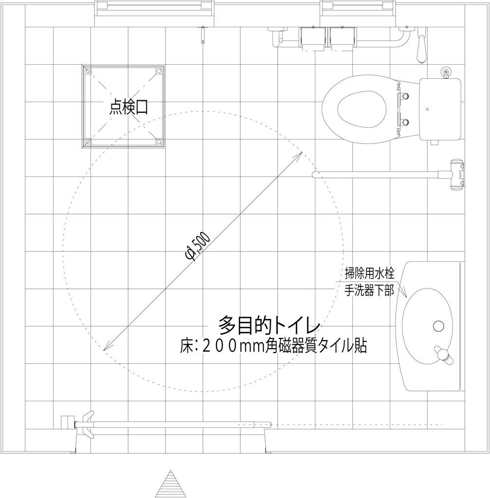 KT004A-SM-00-GR 公園トイレ