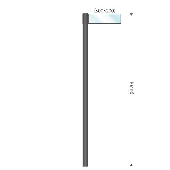 UC-S365001 ガラスサイン