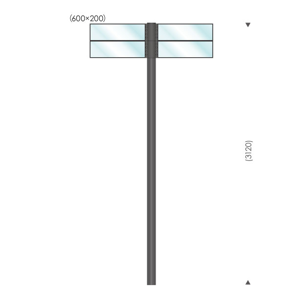 UC-S365004 ガラスサイン
