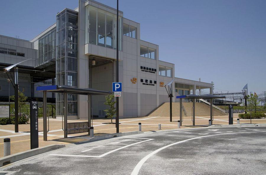 JR枇杷島駅 駅前広場